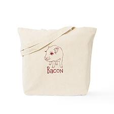 Bacon Pig Tote Bag
