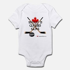 Canada's Game Infant Bodysuit