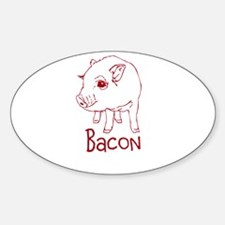 Bacon Pig Decal