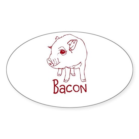 Bacon Pig Sticker