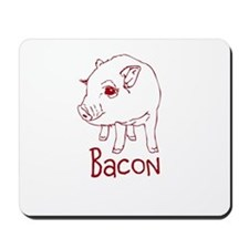 Bacon Pig Mousepad