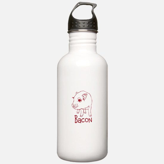 Bacon Pig Water Bottle