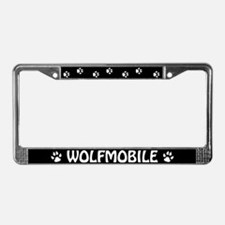 Wolfmobile License Plate Frame