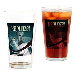 Sci Fi Rapunzel Drinking Glass