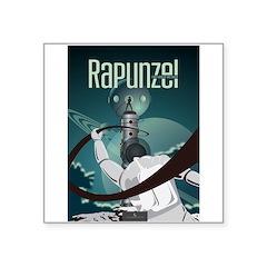 Sci Fi Rapunzel Square Sticker 3