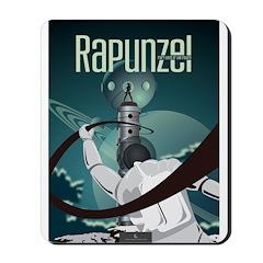Sci Fi Rapunzel Mousepad