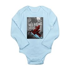 Sci Fi Red Riding Hood Long Sleeve Infant Bodysuit