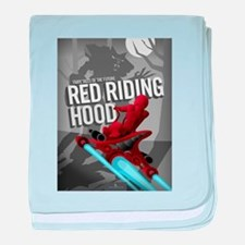 Sci Fi Red Riding Hood baby blanket
