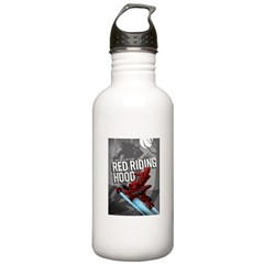 Sci Fi Red Riding Hood Water Bottle