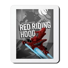 Sci Fi Red Riding Hood Mousepad