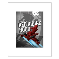 Sci Fi Red Riding Hood Posters