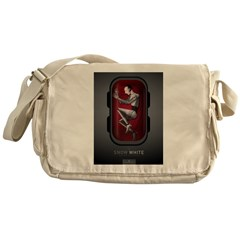Sci Fi Snow White Messenger Bag