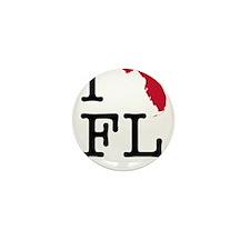 I Love Florida Mini Button (10 pack)