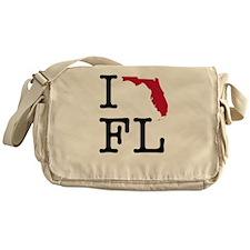 I Love Florida Messenger Bag