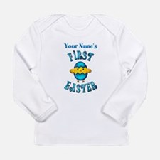First Easter Personalized Long Sleeve T-Shirt