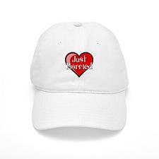 Just Married Baseball Baseball Cap