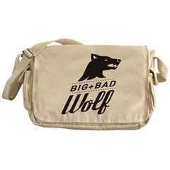 B&W Big Bad Wolf Messenger Bag
