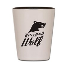 B&W Big Bad Wolf Shot Glass