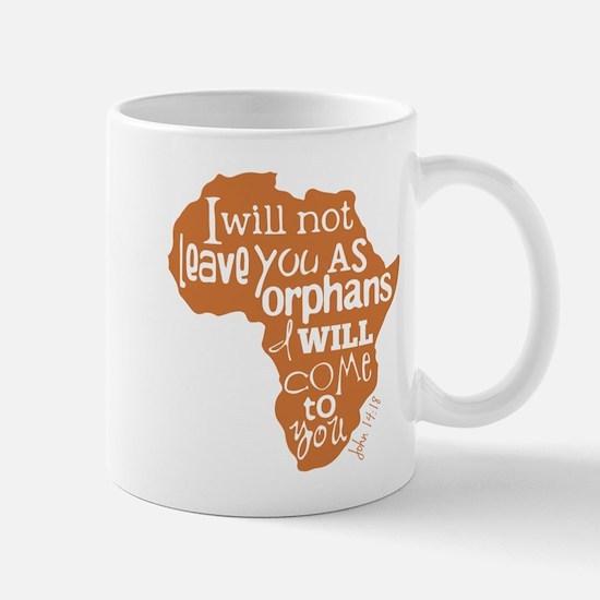 Jn. 14:18 Graphic Mugs