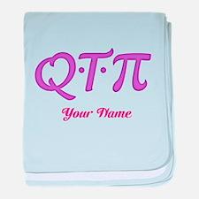 Q T Pi - Cutie Pie - Personalized! baby blanket