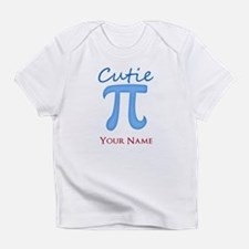 Cutie Pi - Cutey Pie - Personalized Infant T-Shirt