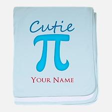 Cutie Pi - Cutey Pie - Personalized baby blanket