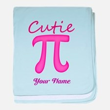 Cutie Pi - Personalized! baby blanket