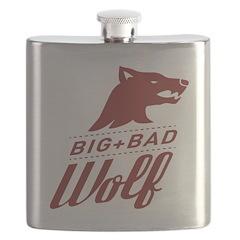 Big Bad Wolf Flask