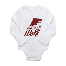 Big Bad Wolf Long Sleeve Infant Bodysuit