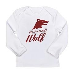 Big Bad Wolf Long Sleeve Infant T-Shirt