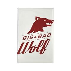 Big Bad Wolf Rectangle Magnet (10 pack)