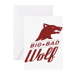 Big Bad Wolf Greeting Cards (Pk of 10)