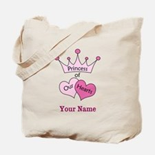 Princess of our Hearts - Personalized! Tote Bag