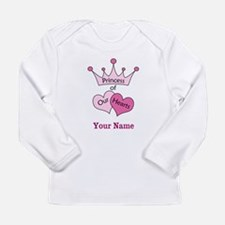 Princess of our Hearts - Personalized! Long Sleeve