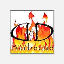 D&D Barbeque Sticker