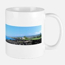Ocean, Lava and Green on the Big Island Mug