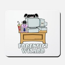Abby Forensics Wizard Mousepad