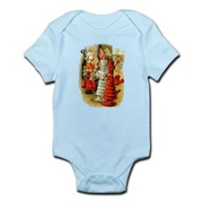 White King and Red Queen Infant Bodysuit