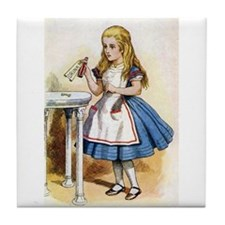 Alice - Drink Me! Tile Coaster