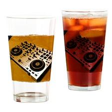 Midi Dj Drinking Glass