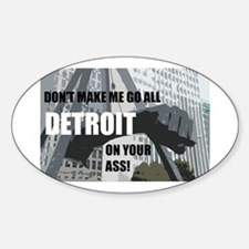 Detroit Girl Decal