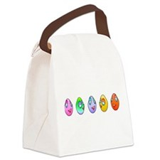 Cute Eggs Canvas Lunch Bag