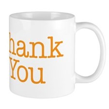 A simple thank you will do Mug