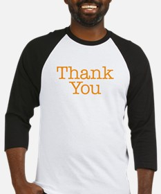 A simple thank you will do Baseball Jersey