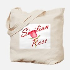 Sicilian Rose Tote Bag