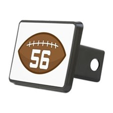 Football Player Number 56 Hitch Cover