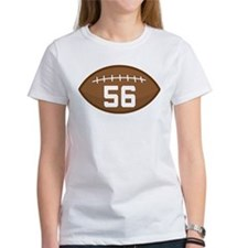 Football Player Number 56 Tee