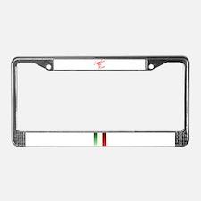Sicilian Rose License Plate Frame