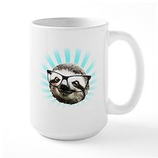 Cute! Hipster Sloth Mug