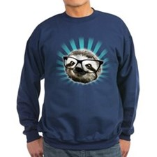 Cute! Hipster Sloth Sweatshirt